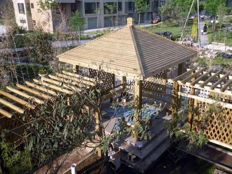 山东防腐木|青岛防腐木工程|青岛众森防腐木业有限公司